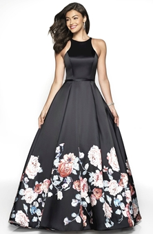 Picture of Floral Ball Gown