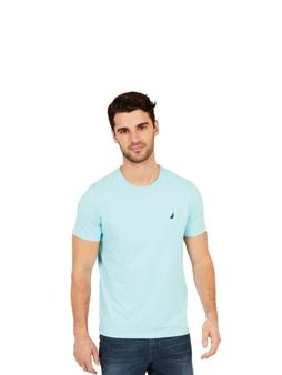Picture of Nautica Light Blue Crew Neck T Shirt